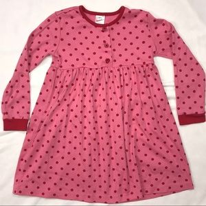 Hanna Andersson Dresses - Hanna Andersson PINK DOT PLAY DRESS 120 6-7 Tunic